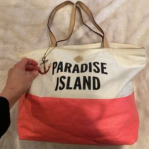 Plastic Island 🌴 Kate Spade Tote Bag